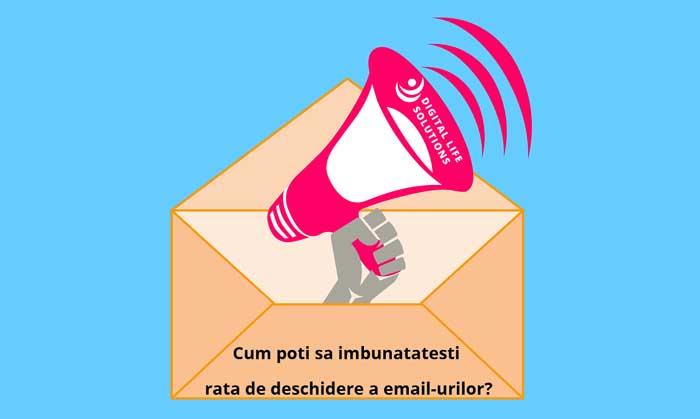 Cum poti sa imbunatatesti rata de deschidere a email-urilor