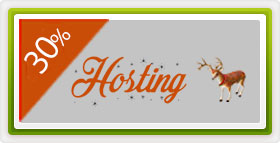 30% discount hosting - Oferta Craciun