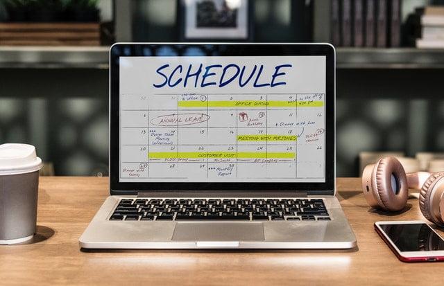 calendarul dvs. de marketing al continutului