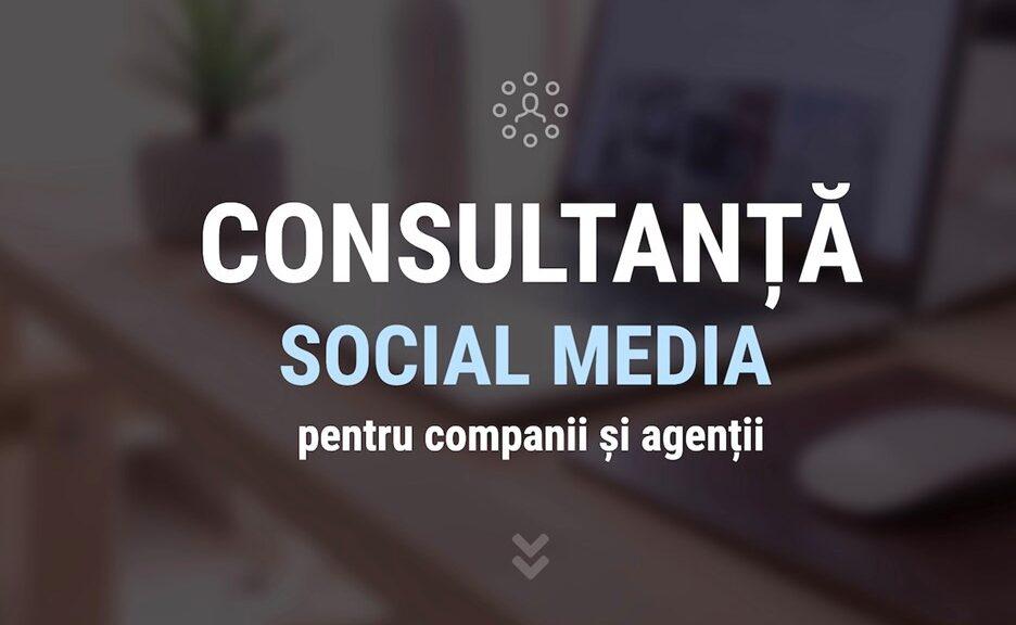Consultanta in social media vs. management: de ce servicii aveti nevoie?